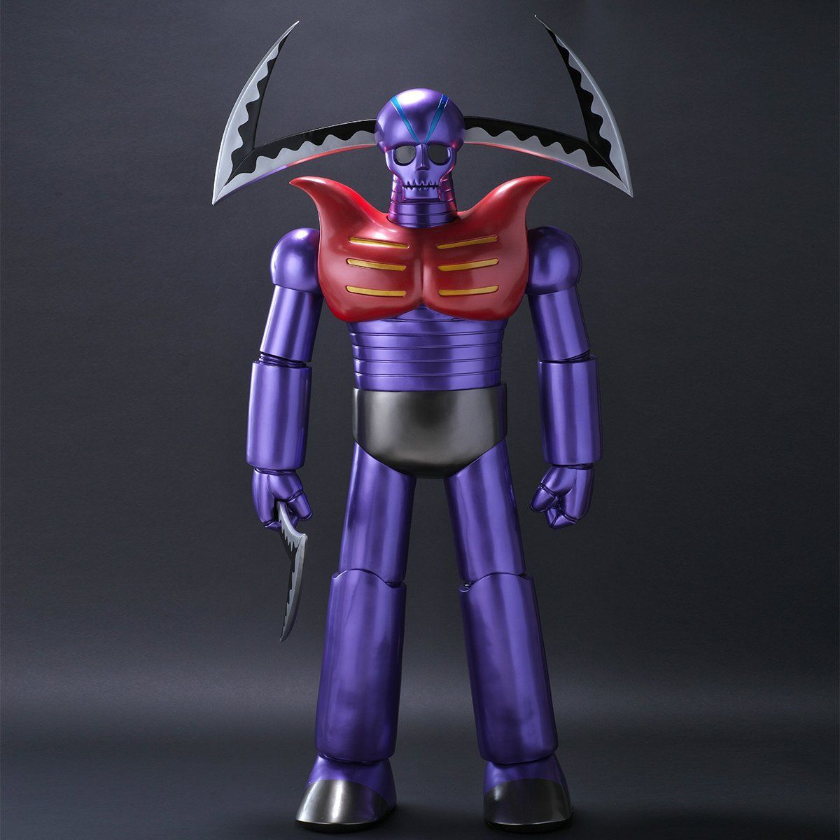 究極造形シリーズSP『ガラダK7 ジャイアントカッターVer. あしゅら男爵付き』マジンガーZ ソフビ・フィギュア-001