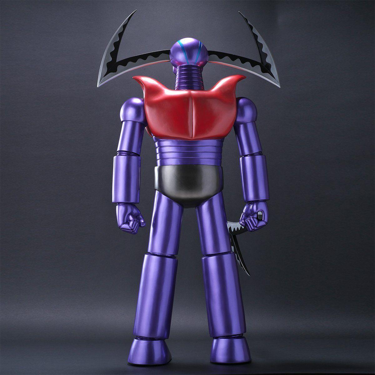 究極造形シリーズSP『ガラダK7 ジャイアントカッターVer. あしゅら男爵付き』マジンガーZ ソフビ・フィギュア-005