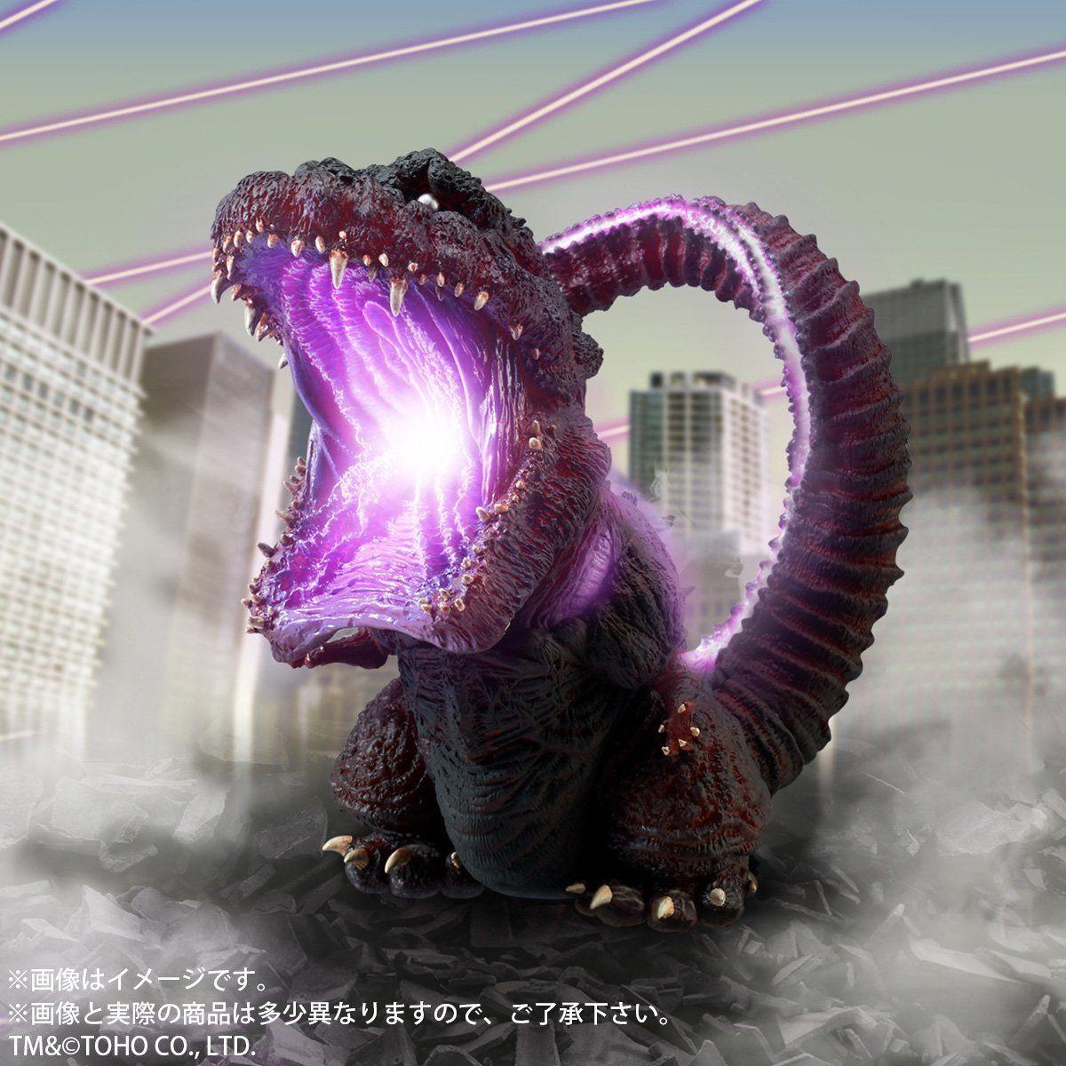 デフォリアル『ゴジラ(2016)覚醒発光Ver.』完成品フィギュア-006