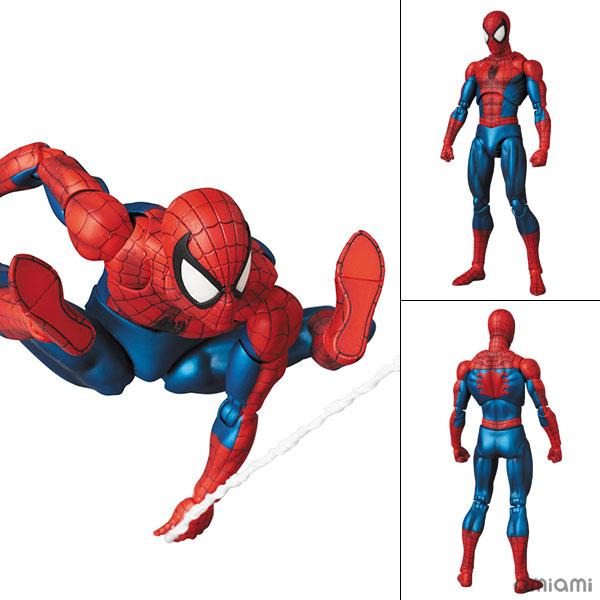 マフェックス No.075 MAFEX『SPIDER-MAN(COMIC Ver.)|マーベル・コミック』可動フィギュア