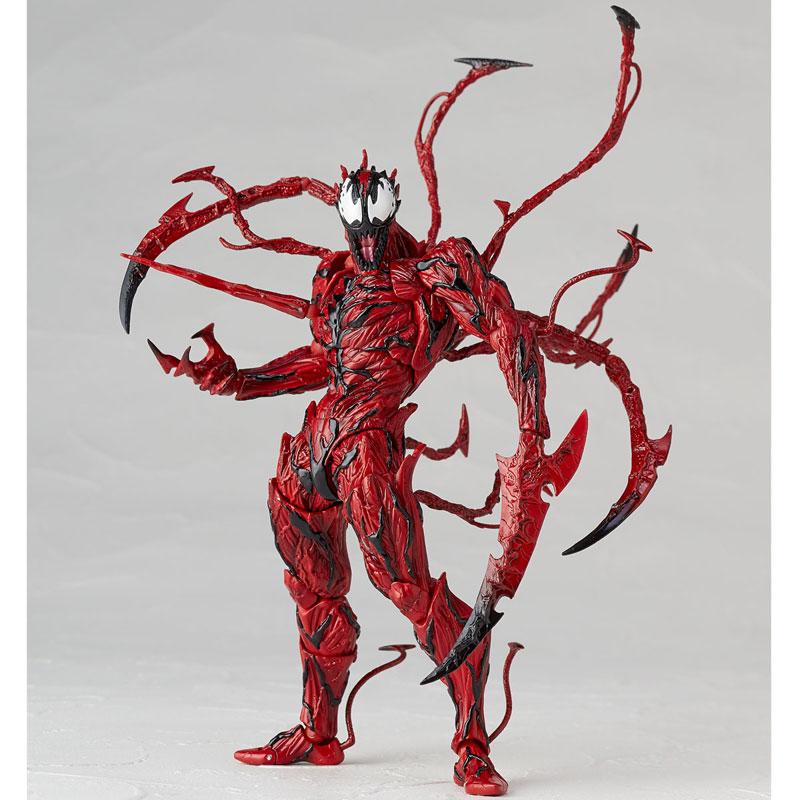 【再販】フィギュアコンプレックス アメイジング・ヤマグチ『カーネイジ』スパイダーマン 可動フィギュア-006