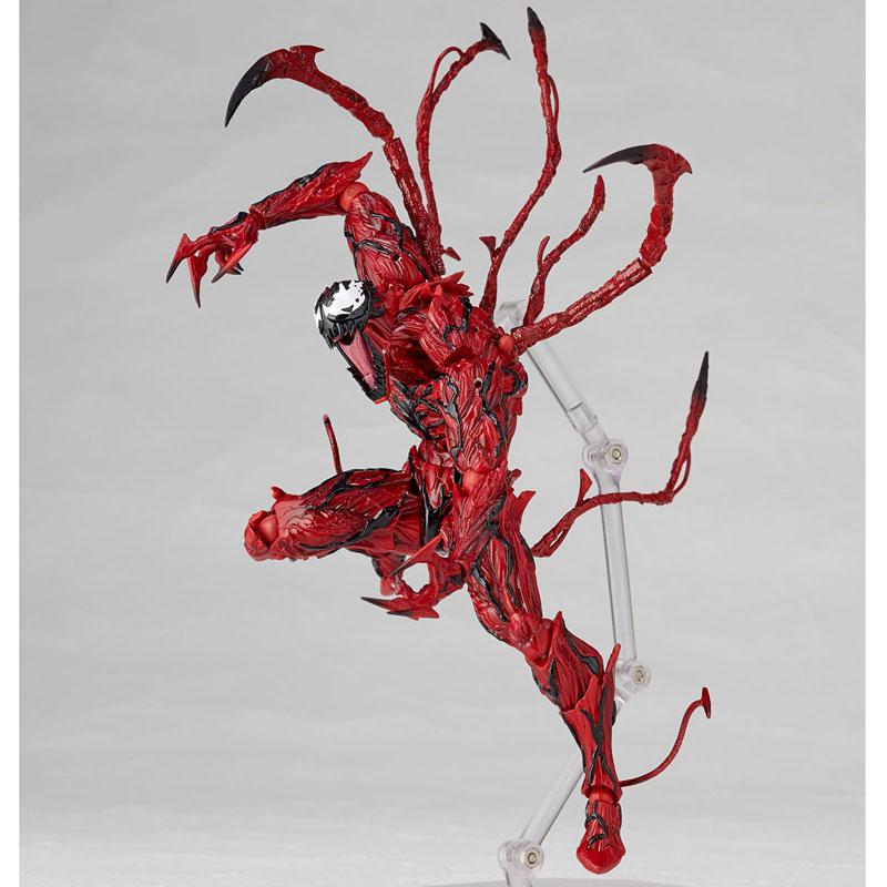 【再販】フィギュアコンプレックス アメイジング・ヤマグチ『カーネイジ』スパイダーマン 可動フィギュア-007
