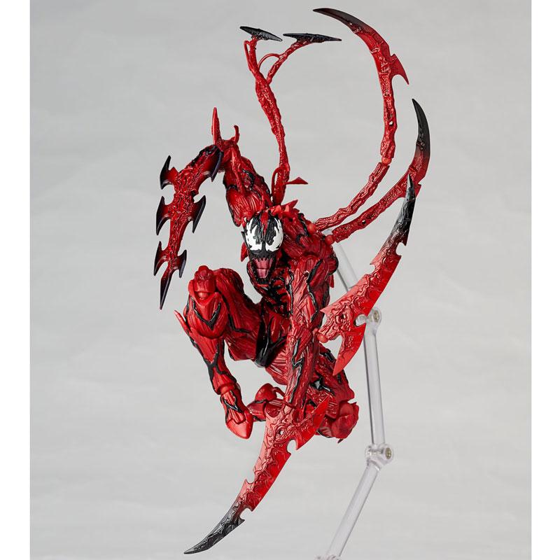 【再販】フィギュアコンプレックス アメイジング・ヤマグチ『カーネイジ』スパイダーマン 可動フィギュア-008