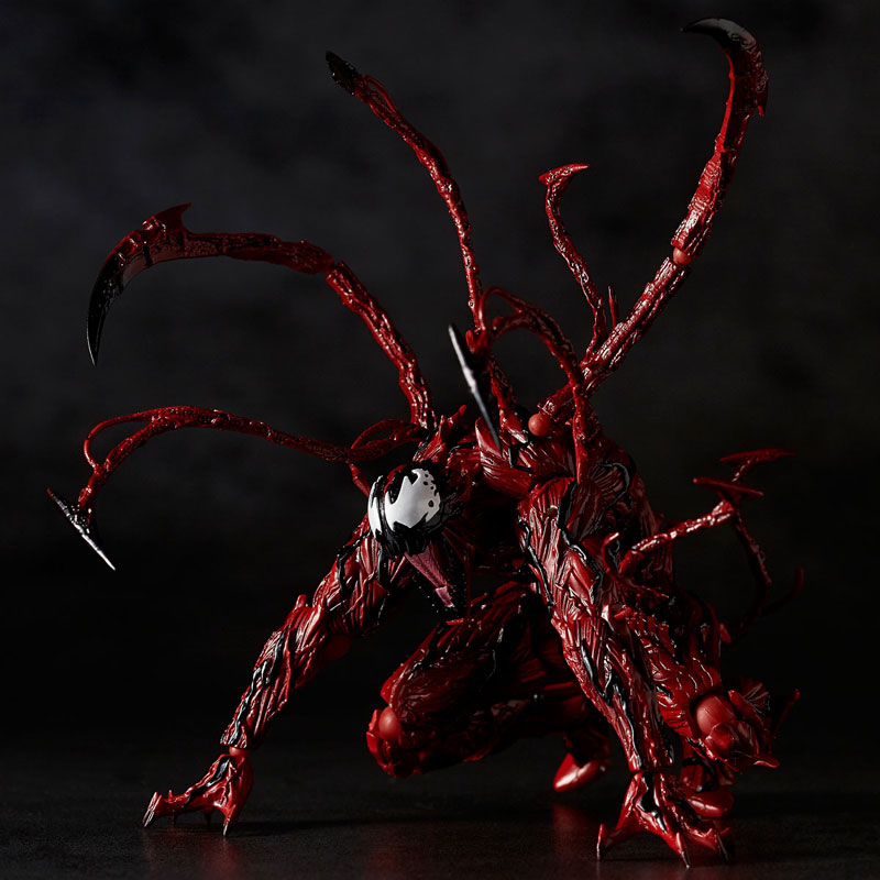 【再販】フィギュアコンプレックス アメイジング・ヤマグチ『カーネイジ』スパイダーマン 可動フィギュア-012