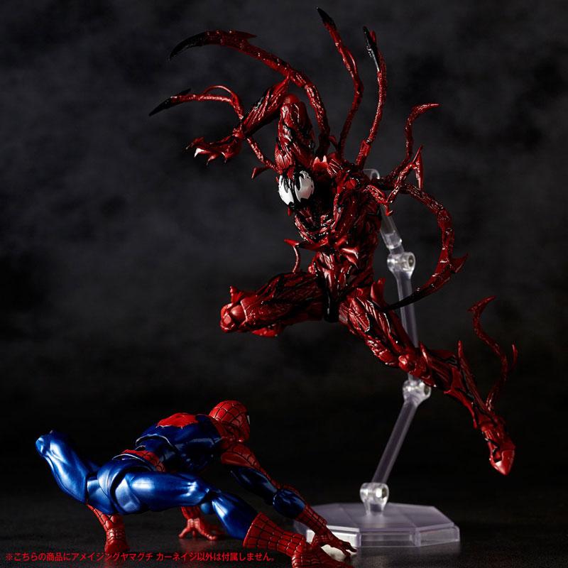 【再販】フィギュアコンプレックス アメイジング・ヤマグチ『カーネイジ』スパイダーマン 可動フィギュア-013