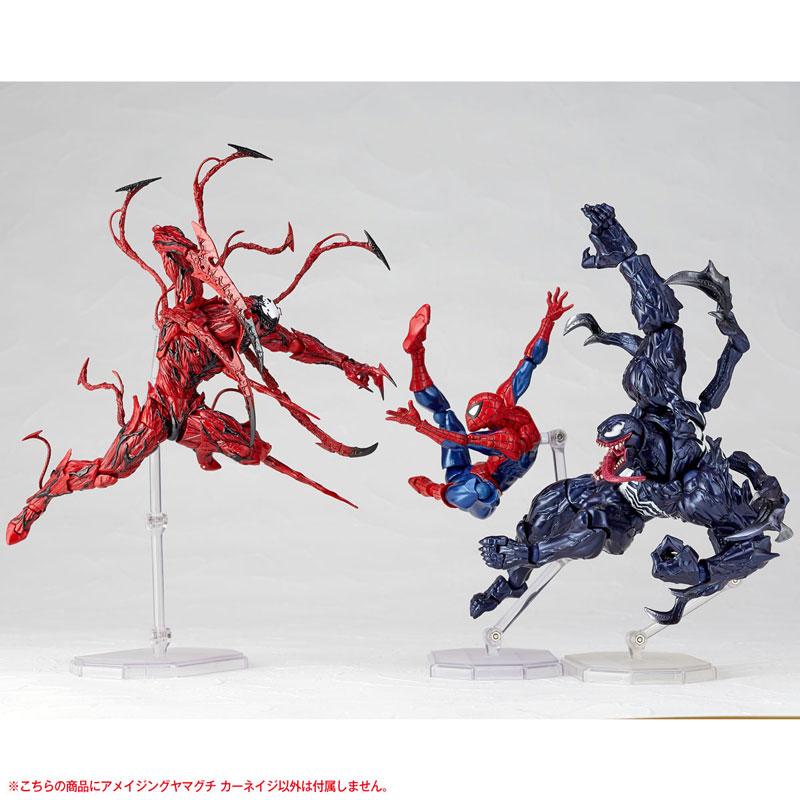【再販】フィギュアコンプレックス アメイジング・ヤマグチ『カーネイジ』スパイダーマン 可動フィギュア-014