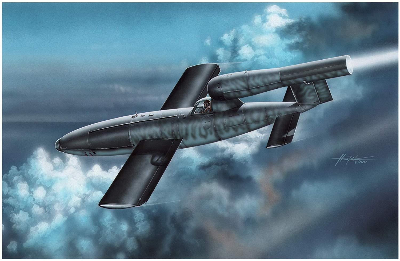 1/32『独・フェゼラー Fi103A-1/Re4 ライフェンベルク攻撃機』プラモデル-001