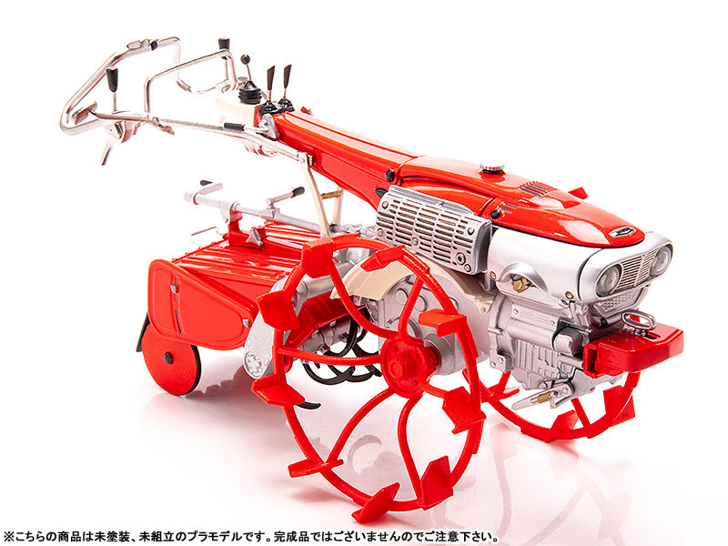 PLAMAX MF-28 minimum factory『いなほ with ホンダ耕耘機F90 水田車輪Ver.』1/20 プラモデル-006