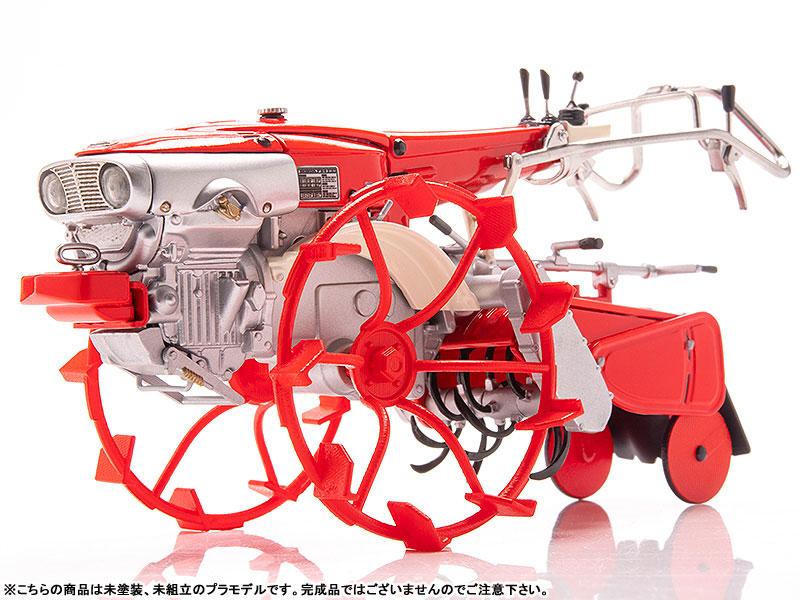 PLAMAX MF-28 minimum factory『いなほ with ホンダ耕耘機F90 水田車輪Ver.』1/20 プラモデル-007