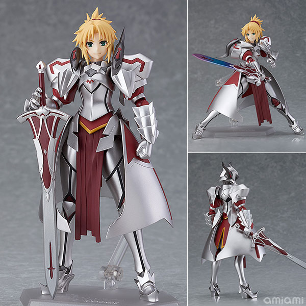 "figma『""赤""のセイバー』Fate/Apocrypha 可動フィギュア"