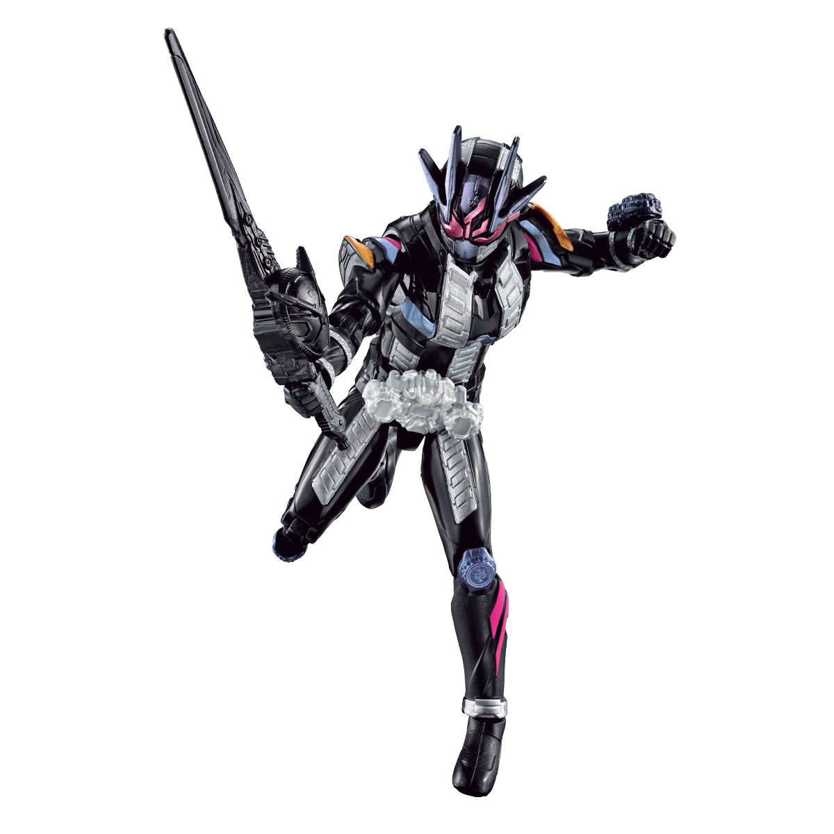 RKFライダーアーマーシリーズ『仮面ライダージオウII』可動フィギュア-002