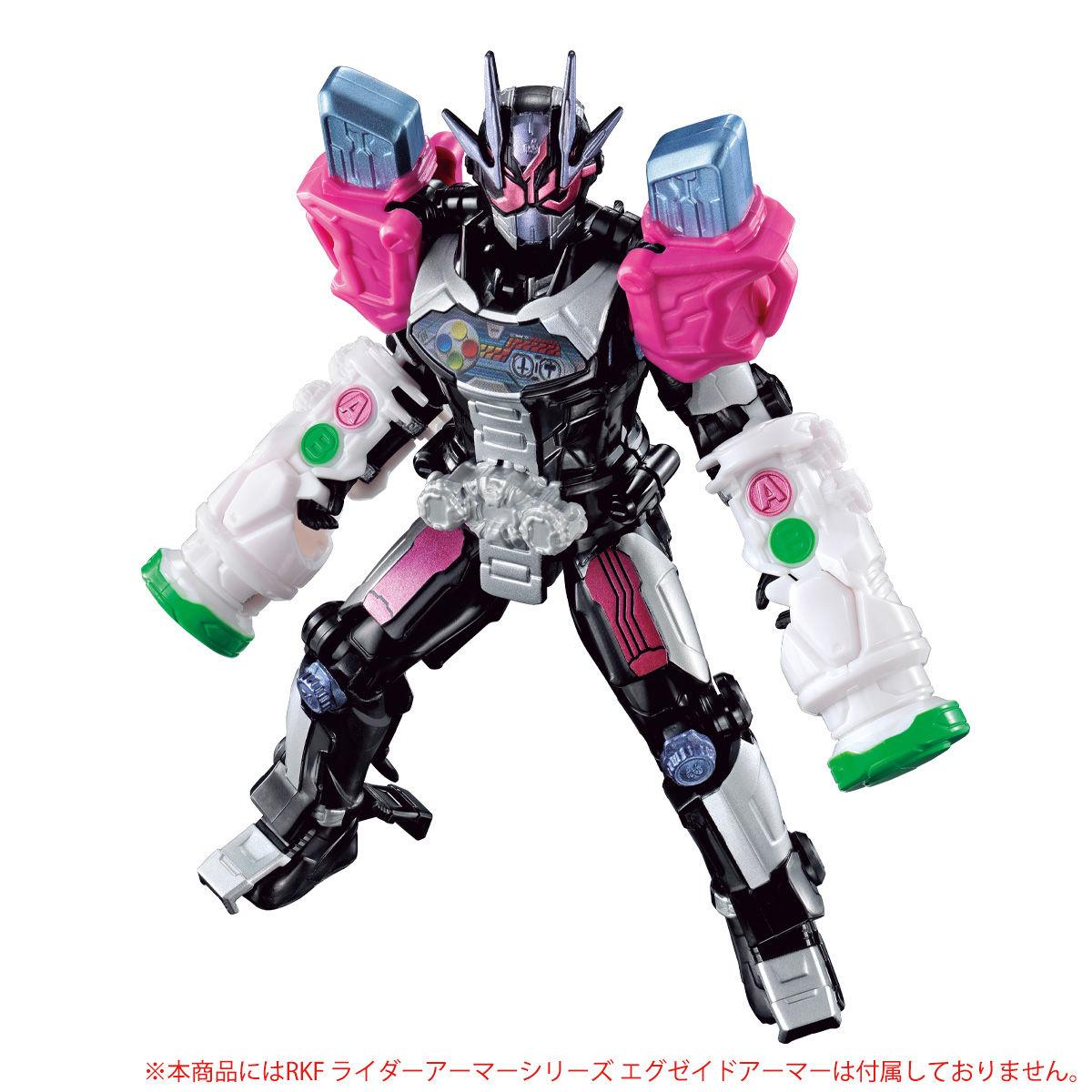 RKFライダーアーマーシリーズ『仮面ライダージオウII』可動フィギュア-004