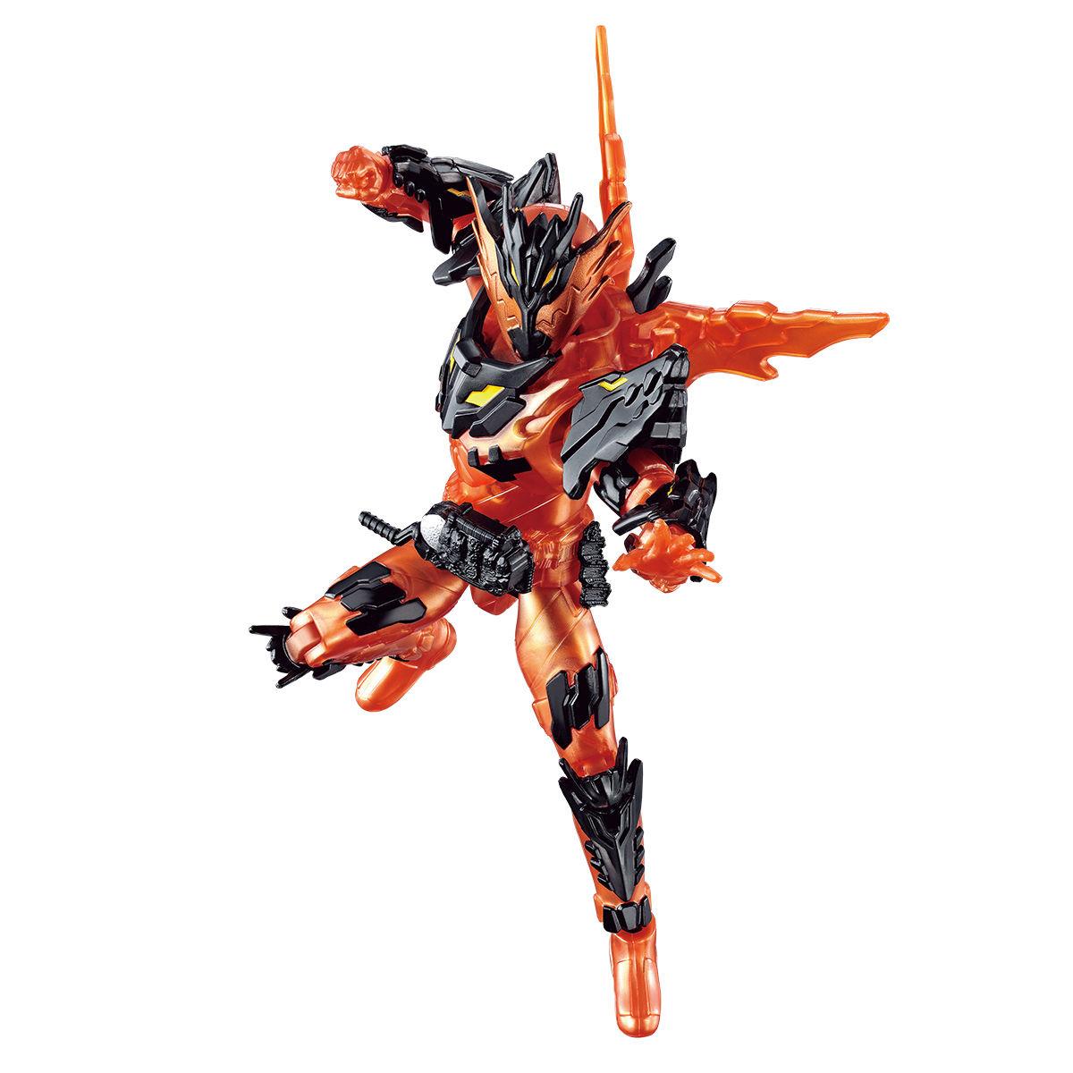 RKFレジェンドライダーシリーズ『仮面ライダークローズマグマ』可動フィギュア-002