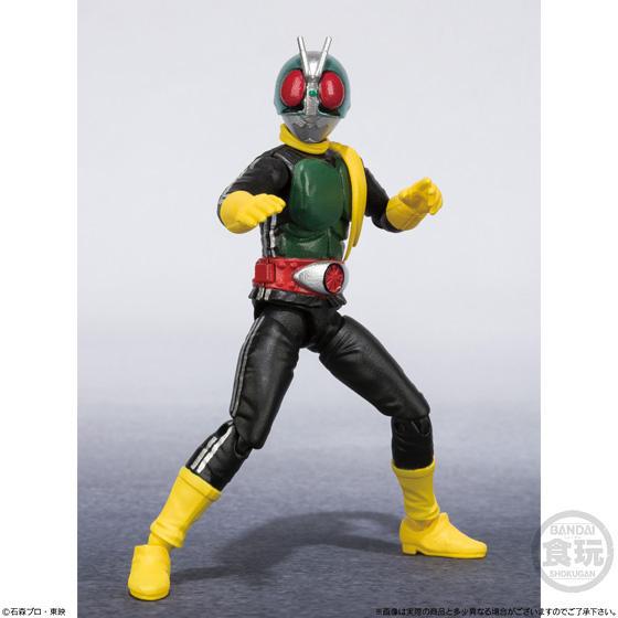 【食玩】SHODO-X『仮面ライダー3』食玩 可動フィギュア 10個入りBOX-004