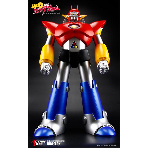 スーパーロボットビニールコレクション『UFO戦士ダイアポロン』ソフビフィギュア