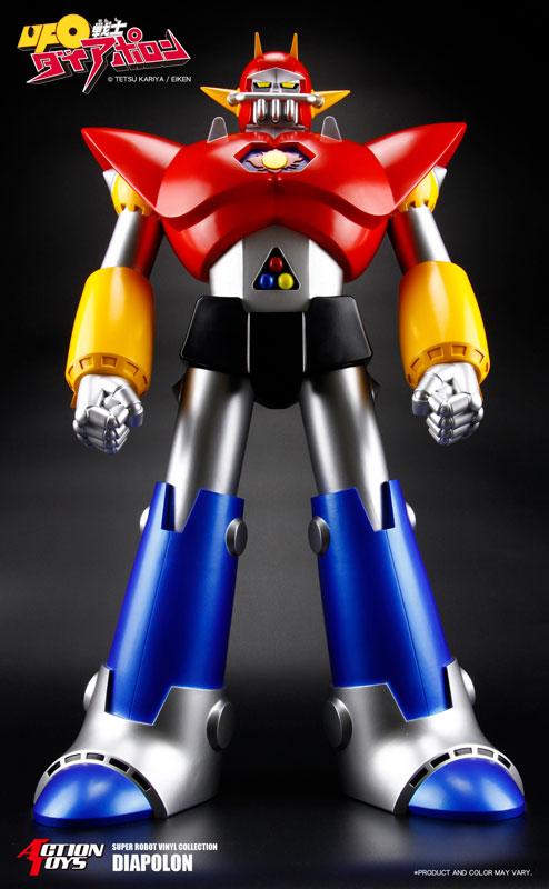 スーパーロボットビニールコレクション『UFO戦士ダイアポロン』ソフビフィギュア-001