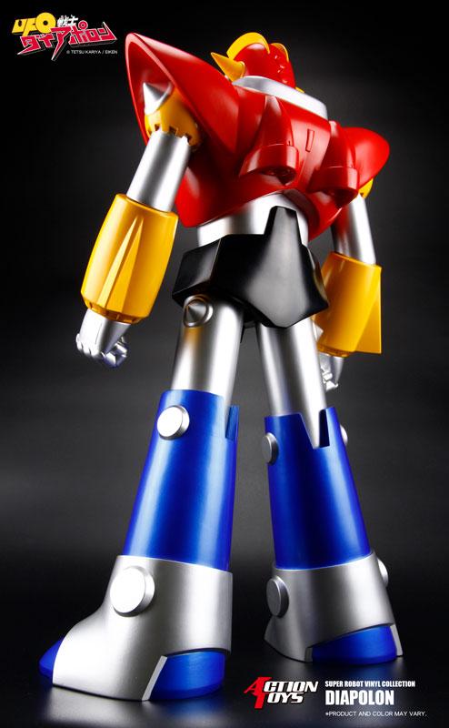 スーパーロボットビニールコレクション『UFO戦士ダイアポロン』ソフビフィギュア-002
