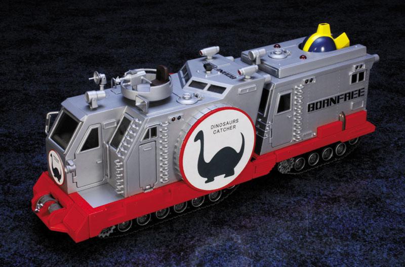 EXプラモ『ボーンフリー号セット』恐竜探険隊ボーンフリー プラモデル-001