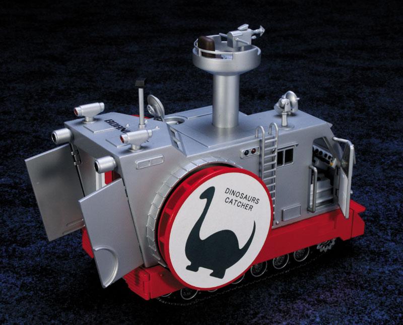 EXプラモ『ボーンフリー号セット』恐竜探険隊ボーンフリー プラモデル-002