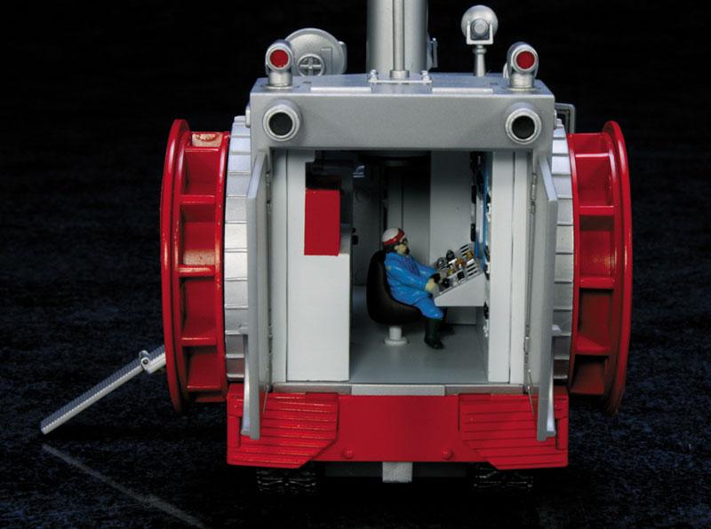 EXプラモ『ボーンフリー号セット』恐竜探険隊ボーンフリー プラモデル-003