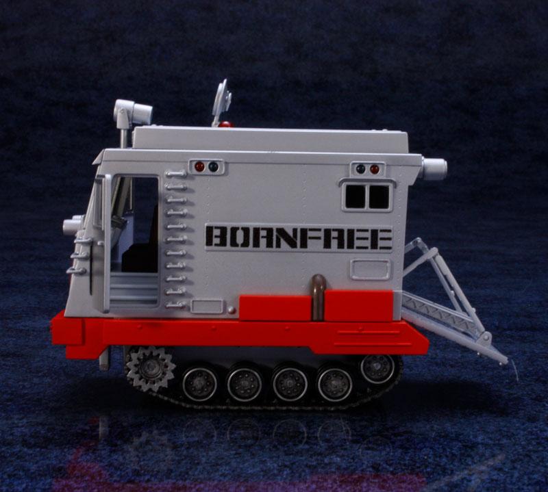 EXプラモ『ボーンフリー号セット』恐竜探険隊ボーンフリー プラモデル-013