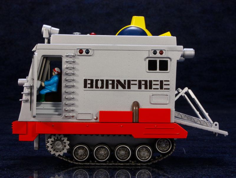EXプラモ『ボーンフリー号セット』恐竜探険隊ボーンフリー プラモデル-017