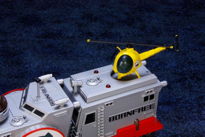 EXプラモ『ボーンフリー号セット』恐竜探険隊ボーンフリー プラモデル-020