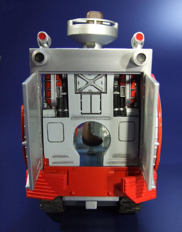 EXプラモ『ボーンフリー号セット』恐竜探険隊ボーンフリー プラモデル-021