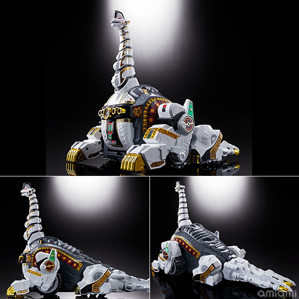 超合金魂『GX-85 キングブラキオン』恐竜戦隊ジュウレンジャー 可動フィギュア