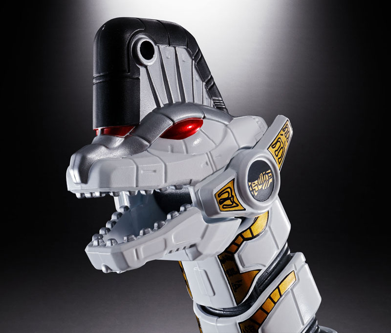 超合金魂『GX-85 キングブラキオン』恐竜戦隊ジュウレンジャー 可動フィギュア-007