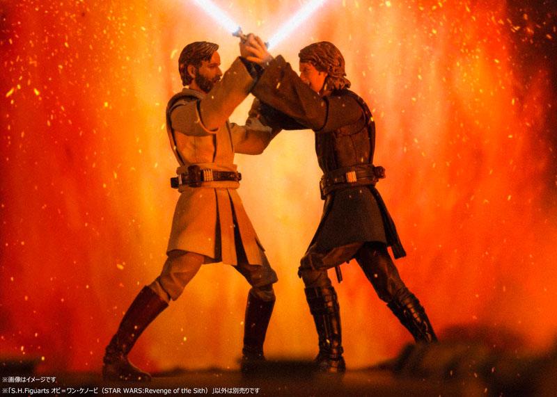 S.H.フィギュアーツ『オビ=ワン・ケノービ(STAR WARS:Revenge of the Sith)』スター・ウォーズ 可動フィギュア-010