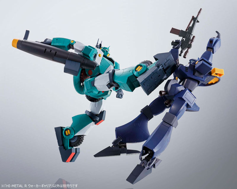 HI-METAL R『ウォーカーギャリア』戦闘メカ ザブングル 可変可動フィギュア-009