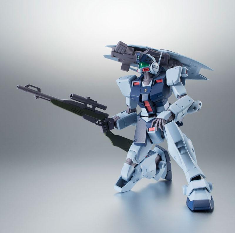 ROBOT魂〈SIDE MS〉『RGM-79SP ジム・スナイパーII ver. A.N.I.M.E.』機動戦士ガンダム0080 ポケットの中の戦争 可動フィギュア-008