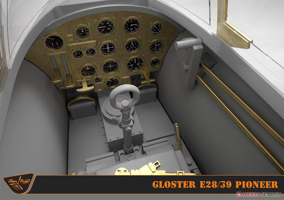 1/72『グロスター E.28/39 パイオニア』プラモデル-035
