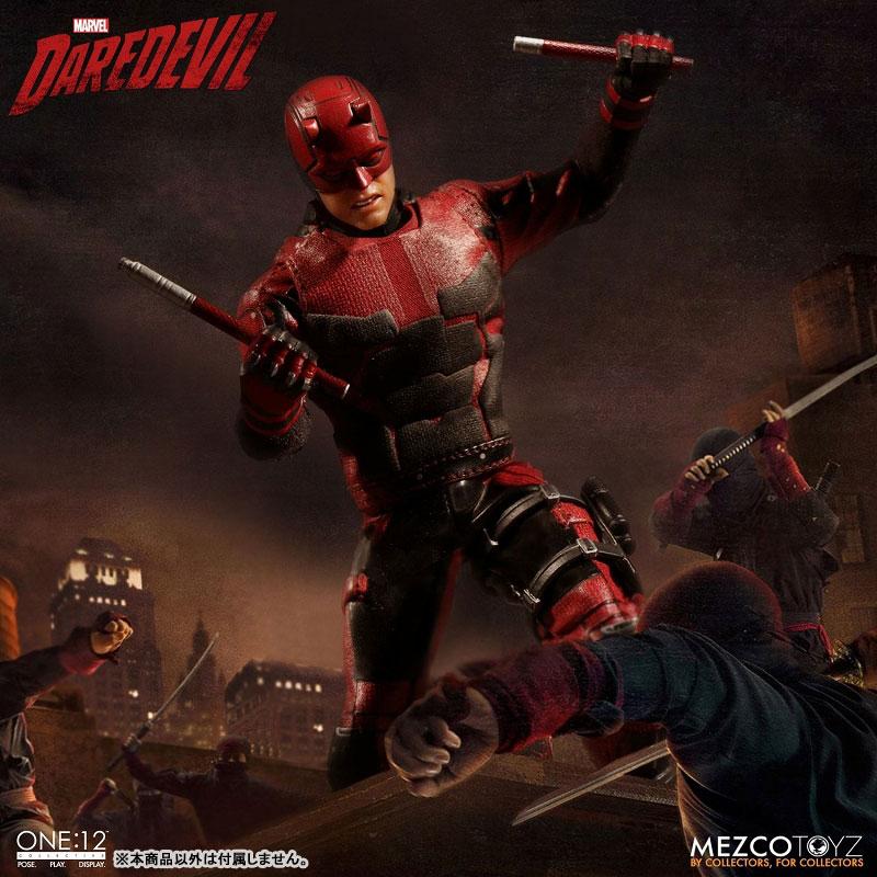 ワン12コレクティブ『デアデビル/マット・マードック|Marvel デアデビル』1/12 アクションフィギュア-005
