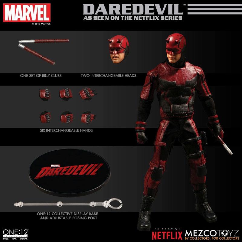 ワン12コレクティブ『デアデビル/マット・マードック|Marvel デアデビル』1/12 アクションフィギュア-008