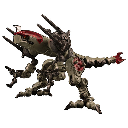 ダイアクロン『DA-31 ワルダレイダー ラプトヘッド』可動フィギュア