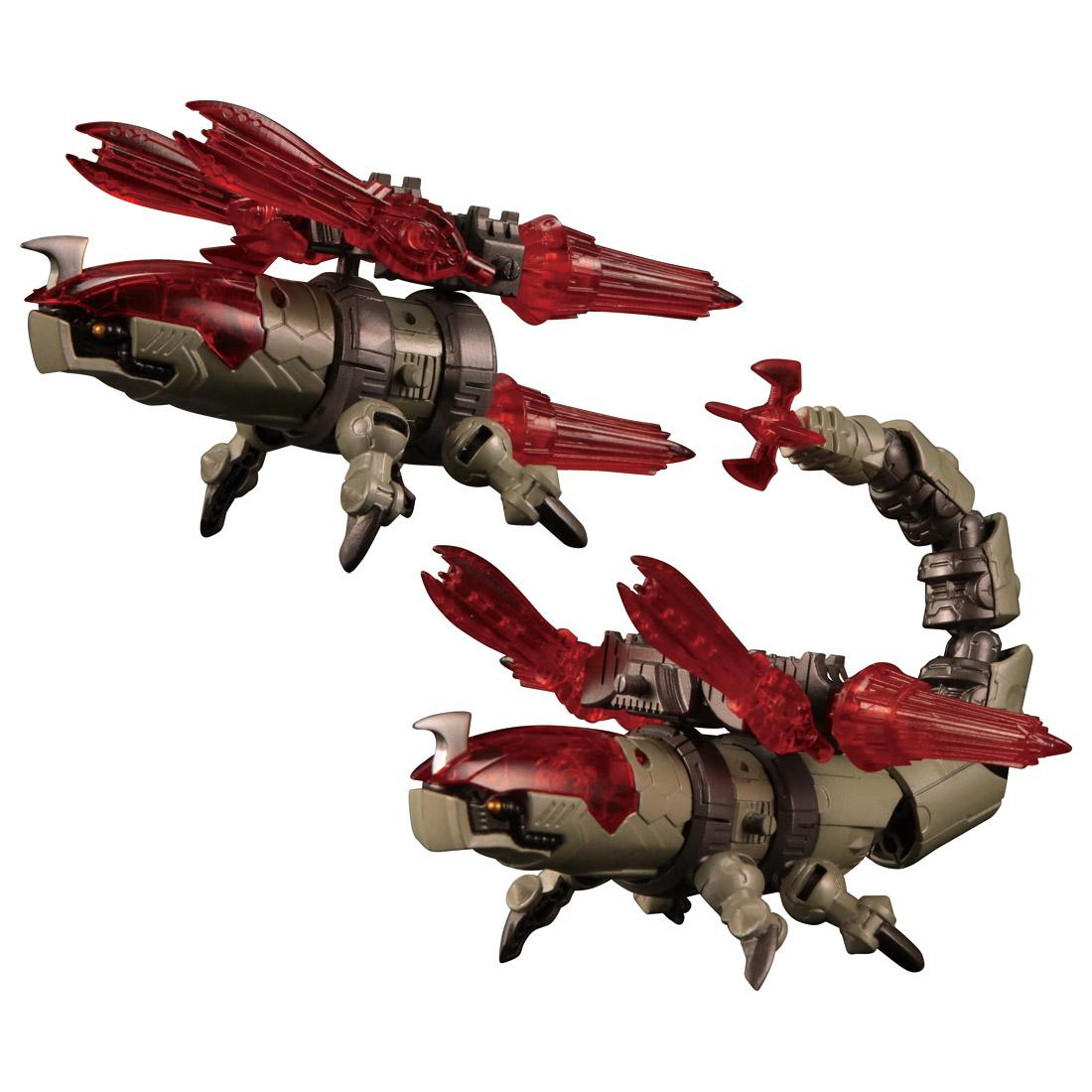 ダイアクロン『DA-31 ワルダレイダー ラプトヘッド』可動フィギュア-002