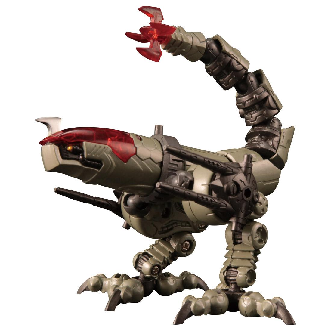 ダイアクロン『DA-31 ワルダレイダー ラプトヘッド』可動フィギュア-003