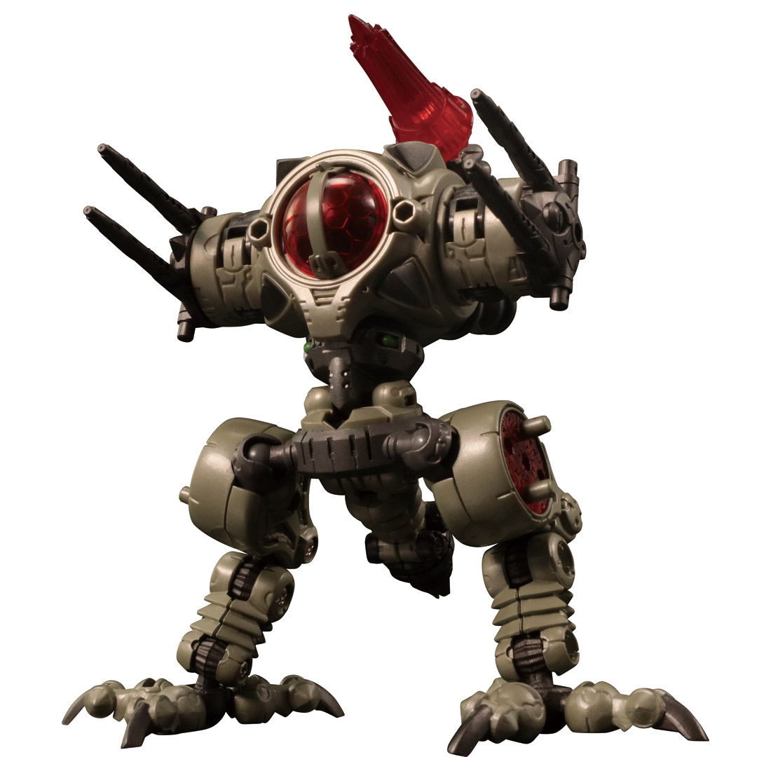 ダイアクロン『DA-31 ワルダレイダー ラプトヘッド』可動フィギュア-006