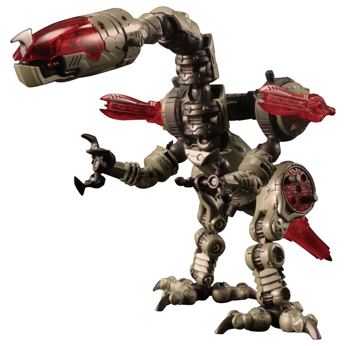 ダイアクロン『DA-31 ワルダレイダー ラプトヘッド』可動フィギュア-008