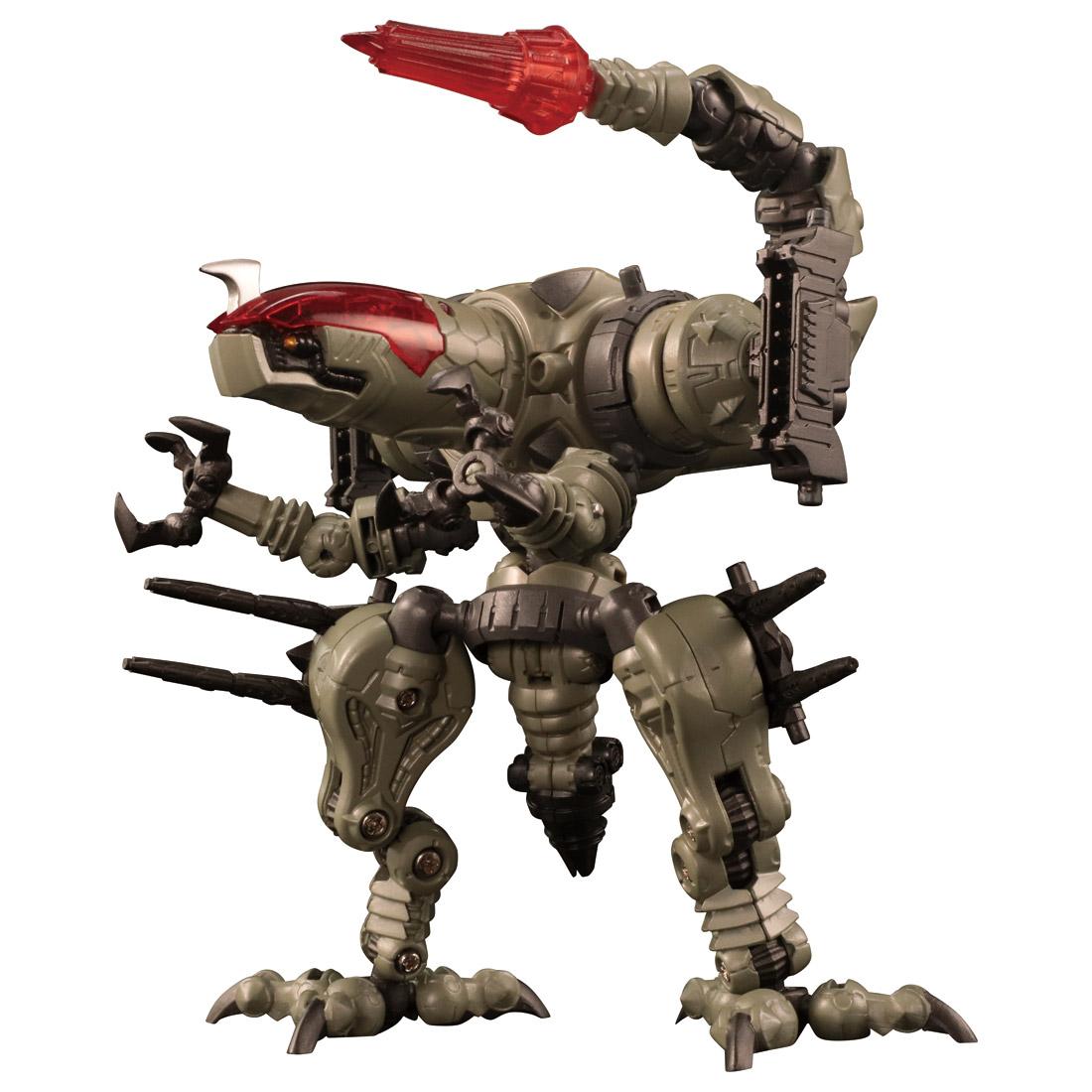 ダイアクロン『DA-31 ワルダレイダー ラプトヘッド』可動フィギュア-009