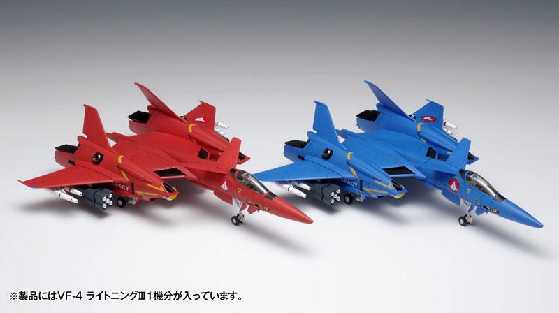 超時空要塞マクロス Flash Back 2012『VF-4 ライトニングIII〔DX版〕』プラモデル-001