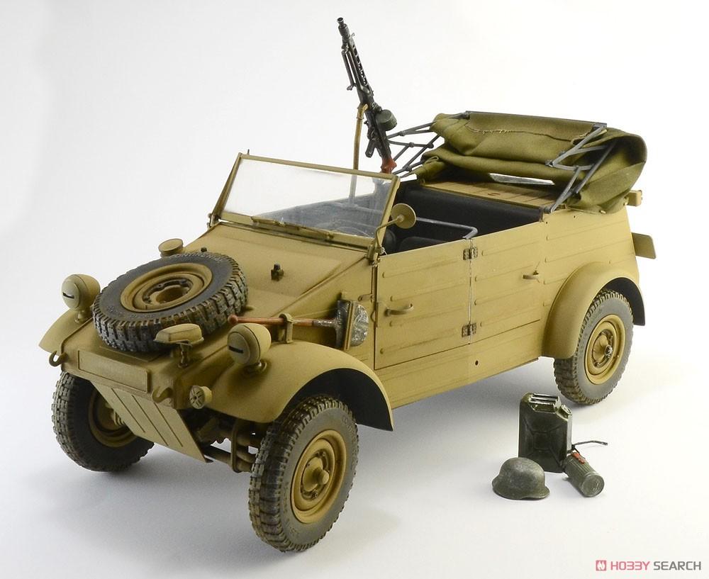 WW.II ドイツ軍『キューベルワーゲン Type82』1/9 プラモデル-001