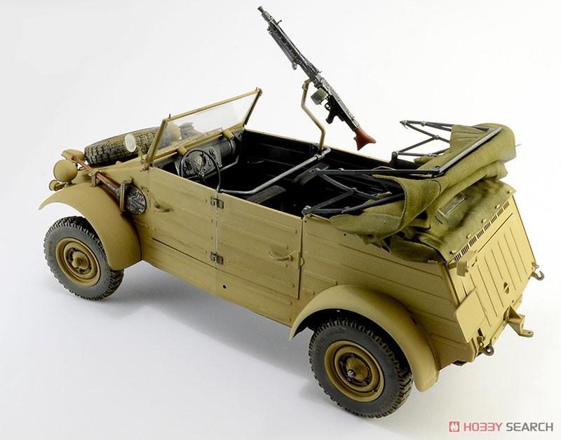 WW.II ドイツ軍『キューベルワーゲン Type82』1/9 プラモデル-002