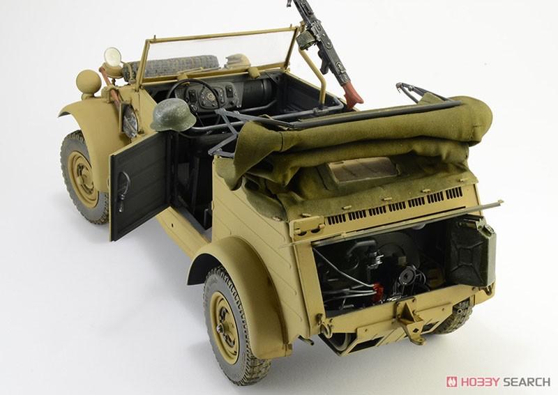 WW.II ドイツ軍『キューベルワーゲン Type82』1/9 プラモデル-003