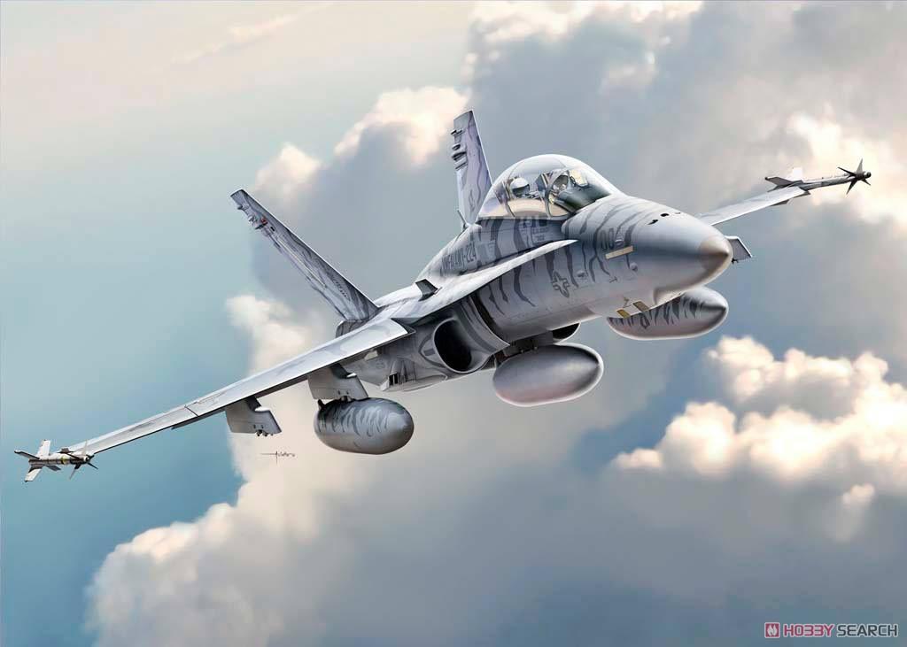 1/48『F/A-18D ATARS』プラモデル-002