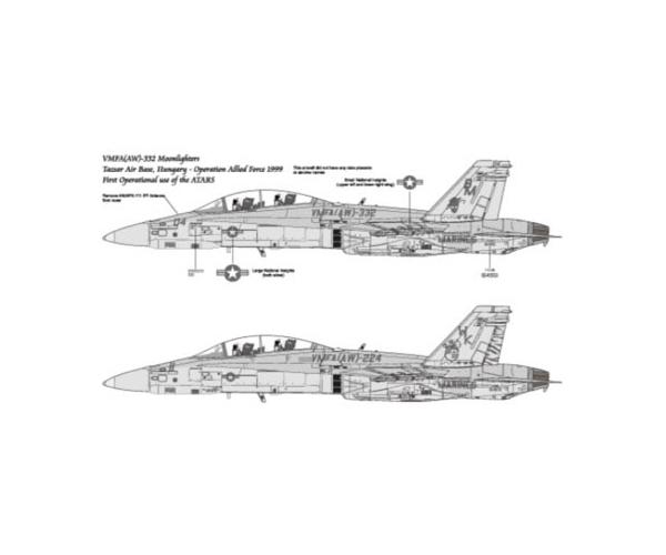 1/48『F/A-18D ATARS』プラモデル-004