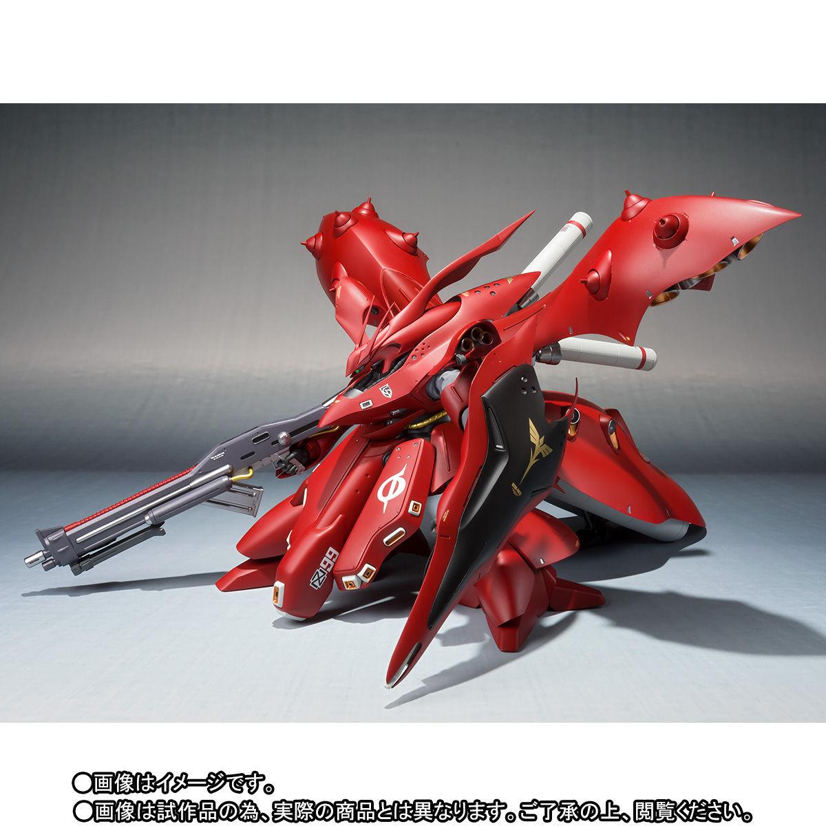ROBOT魂 <SIDE MS>『ナイチンゲール(重塗装仕様)』可動フィギュア-002
