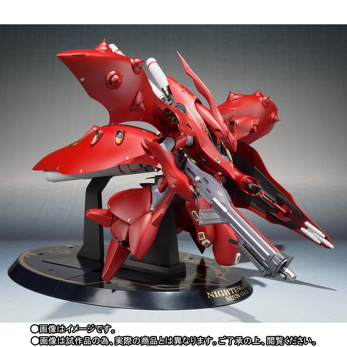 ROBOT魂 <SIDE MS>『ナイチンゲール(重塗装仕様)』可動フィギュア-003